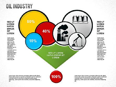 Oil Industry Diagram, Slide 4, 01254, Presentation Templates — PoweredTemplate.com