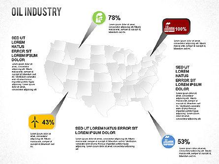 Oil Industry Diagram, Slide 5, 01254, Presentation Templates — PoweredTemplate.com