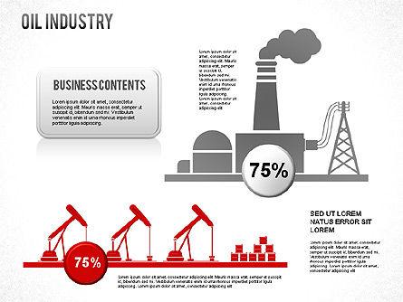 Oil Industry Diagram, Slide 6, 01254, Presentation Templates — PoweredTemplate.com