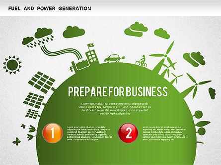 Resources Diagram, Slide 2, 01257, Business Models — PoweredTemplate.com