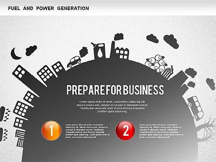 Resources Diagram, Slide 3, 01257, Business Models — PoweredTemplate.com