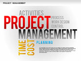 Business Models: Project Management Diagram Set #01259
