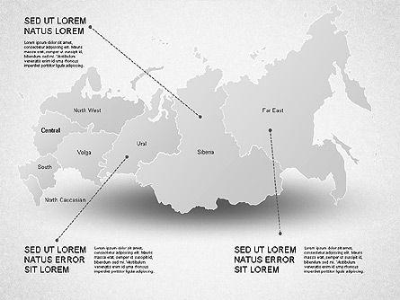 Russia Presentation Diagram, Slide 10, 01261, Presentation Templates — PoweredTemplate.com