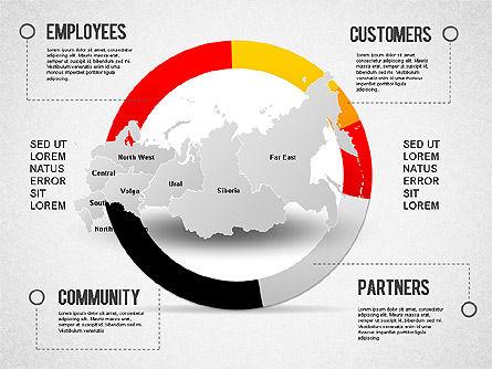 Russia Presentation Diagram, Slide 11, 01261, Presentation Templates — PoweredTemplate.com