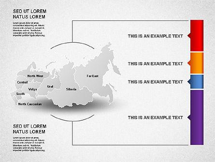 Russia Presentation Diagram, Slide 12, 01261, Presentation Templates — PoweredTemplate.com
