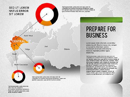 Russia Presentation Diagram, Slide 2, 01261, Presentation Templates — PoweredTemplate.com