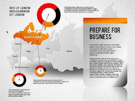 Russia Presentation Diagram, Slide 3, 01261, Presentation Templates — PoweredTemplate.com