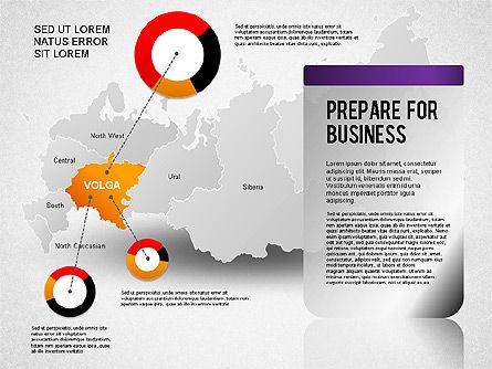 Russia Presentation Diagram, Slide 4, 01261, Presentation Templates — PoweredTemplate.com