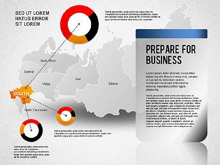 Russia Presentation Diagram, Slide 5, 01261, Presentation Templates — PoweredTemplate.com