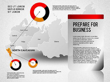 Russia Presentation Diagram, Slide 6, 01261, Presentation Templates — PoweredTemplate.com