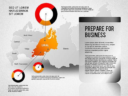 Russia Presentation Diagram, Slide 7, 01261, Presentation Templates — PoweredTemplate.com