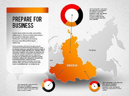 Russia Presentation Diagram, Slide 8, 01261, Presentation Templates — PoweredTemplate.com