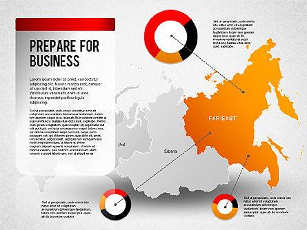 Russia Presentation Diagram, Slide 9, 01261, Presentation Templates — PoweredTemplate.com