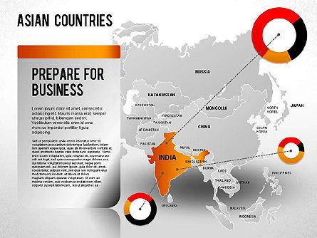 Asian Countries Presentation, Slide 13, 01263, Presentation Templates — PoweredTemplate.com