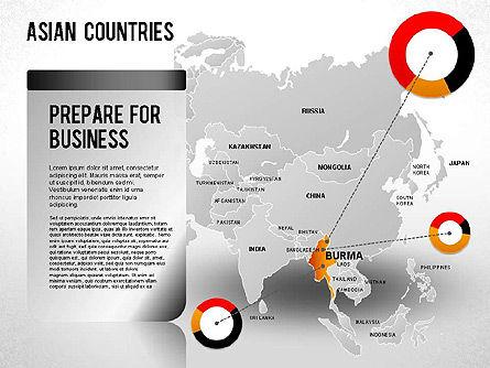 Asian Countries Presentation, Slide 18, 01263, Presentation Templates — PoweredTemplate.com
