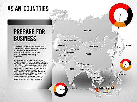 Asian Countries Presentation, Slide 23, 01263, Presentation Templates — PoweredTemplate.com
