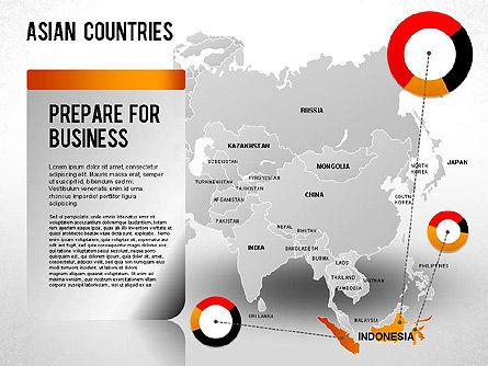Asian Countries Presentation, Slide 24, 01263, Presentation Templates — PoweredTemplate.com