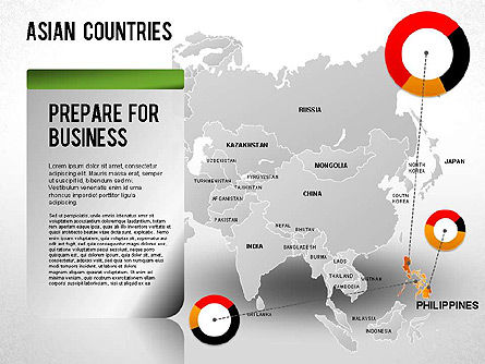 Asian Countries Presentation, Slide 25, 01263, Presentation Templates — PoweredTemplate.com