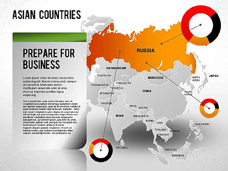 Asian Countries Presentation, Slide 3, 01263, Presentation Templates — PoweredTemplate.com