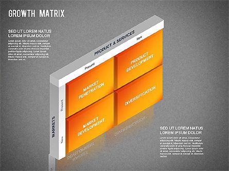 BCG Matrix, Slide 12, 01266, Matrix Charts — PoweredTemplate.com
