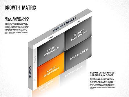 BCG Matrix, Slide 5, 01266, Matrix Charts — PoweredTemplate.com