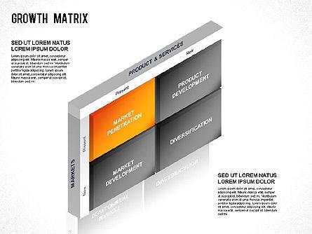 BCG Matrix, Slide 6, 01266, Matrix Charts — PoweredTemplate.com
