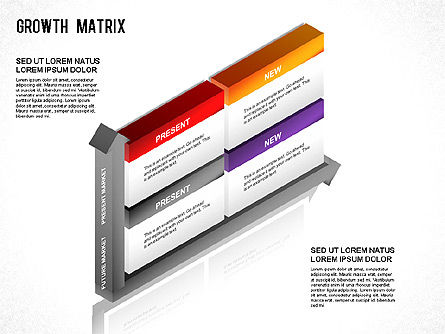 BCG Matrix, Slide 9, 01266, Matrix Charts — PoweredTemplate.com