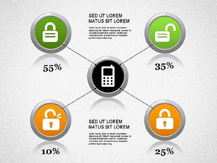 Smartphone Diagram, Slide 2, 01267, Presentation Templates — PoweredTemplate.com