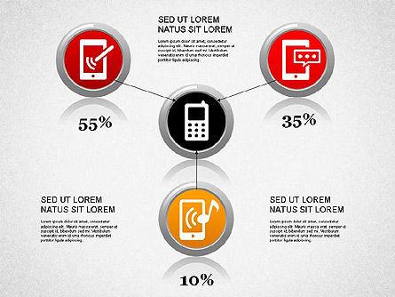 Smartphone Diagram, Slide 4, 01267, Presentation Templates — PoweredTemplate.com