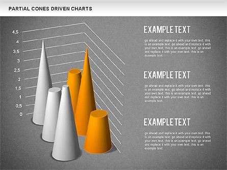 Cones Bar Chart, Slide 15, 01271, Data Driven Diagrams and Charts — PoweredTemplate.com