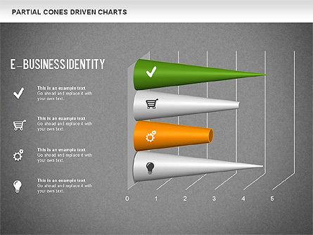 Cones Bar Chart, Slide 16, 01271, Data Driven Diagrams and Charts — PoweredTemplate.com