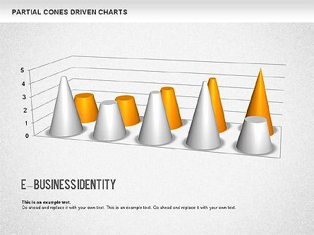 Cones Bar Chart, Slide 6, 01271, Data Driven Diagrams and Charts — PoweredTemplate.com