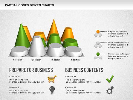Cones Bar Chart, Slide 7, 01271, Data Driven Diagrams and Charts — PoweredTemplate.com