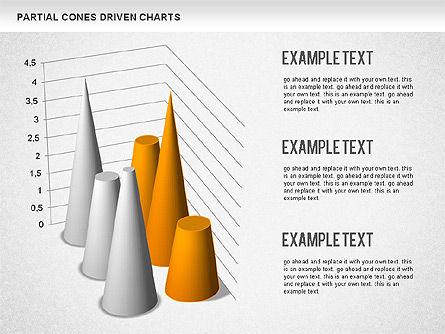 Cones Bar Chart, Slide 8, 01271, Data Driven Diagrams and Charts — PoweredTemplate.com
