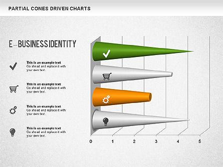Cones Bar Chart, Slide 9, 01271, Data Driven Diagrams and Charts — PoweredTemplate.com