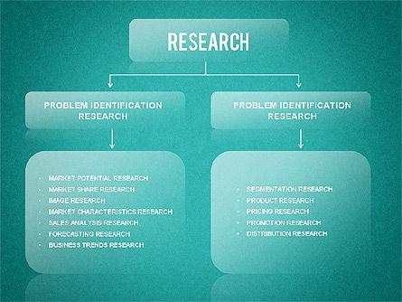 Research Wheel Diagram, Slide 16, 01273, Process Diagrams — PoweredTemplate.com