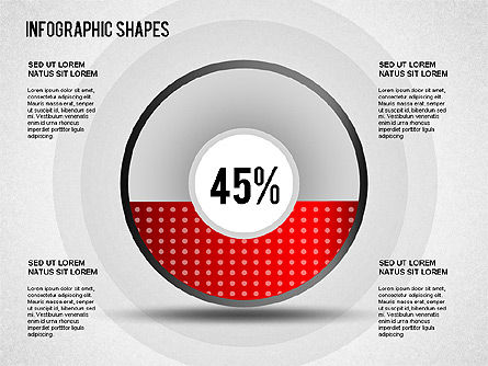 Infographics Shapes, Slide 2, 01274, Shapes — PoweredTemplate.com
