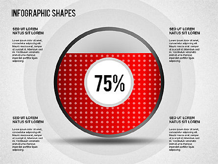 Infographics Shapes, Slide 3, 01274, Shapes — PoweredTemplate.com