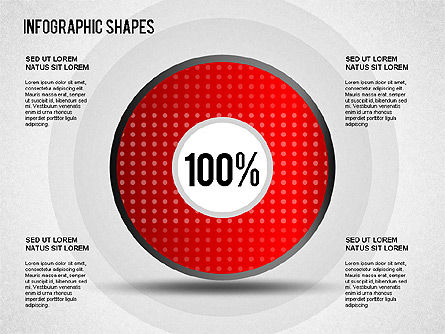 Infographics Shapes Slide 4