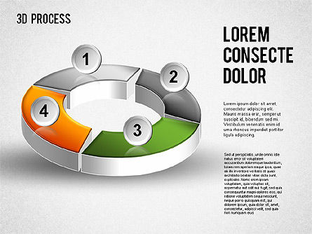 Process Diagrams: 3D Process Diagram #01275