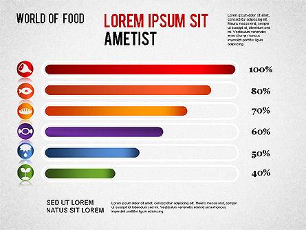Food Diagram, Slide 12, 01278, Business Models — PoweredTemplate.com