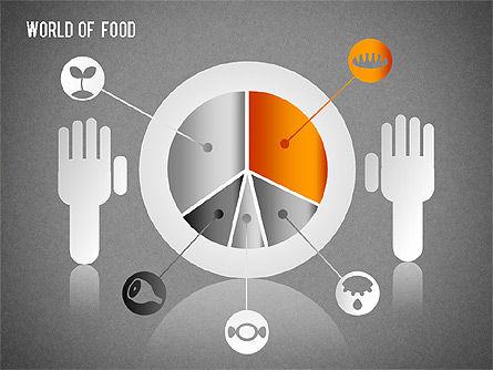 Food Diagram, Slide 14, 01278, Business Models — PoweredTemplate.com