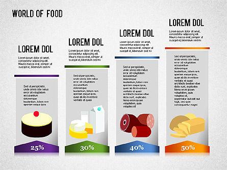 Food Diagram, Slide 2, 01278, Business Models — PoweredTemplate.com