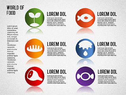 Food Diagram, Slide 3, 01278, Business Models — PoweredTemplate.com