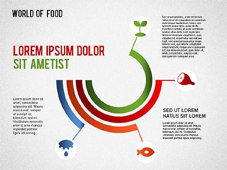Food Diagram, Slide 4, 01278, Business Models — PoweredTemplate.com