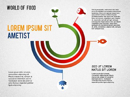 Food Diagram, Slide 5, 01278, Business Models — PoweredTemplate.com