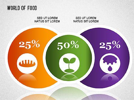 Food Diagram, Slide 8, 01278, Business Models — PoweredTemplate.com