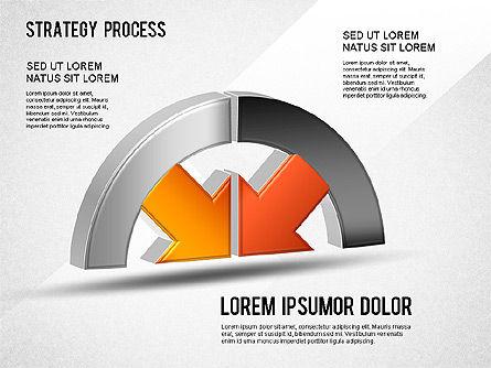 Strategy Process, Slide 2, 01280, Process Diagrams — PoweredTemplate.com