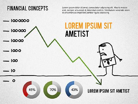 Report Concept Diagram, Slide 2, 01281, Business Models — PoweredTemplate.com