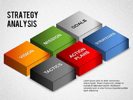 Business Models: Strategy Analysis Diagram #01282